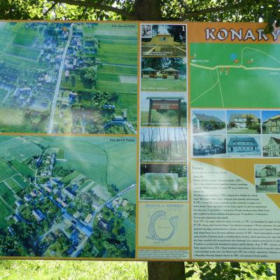 Atrakcje turystyczne w Konarach