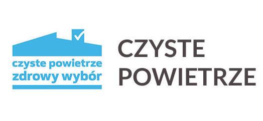 Czyste powietrze - logo programu