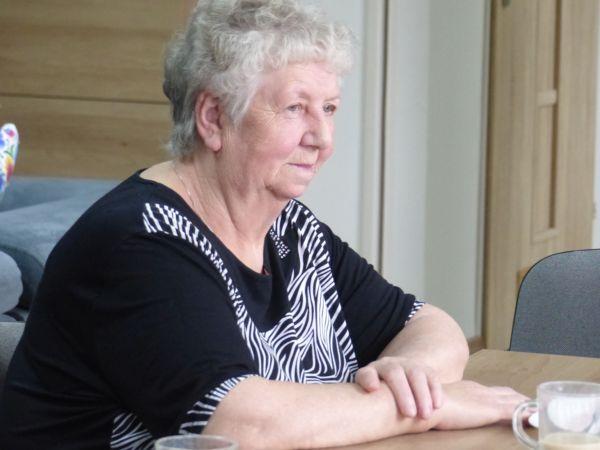 Pani Zenobia obchodziła swoje 73 urodziny