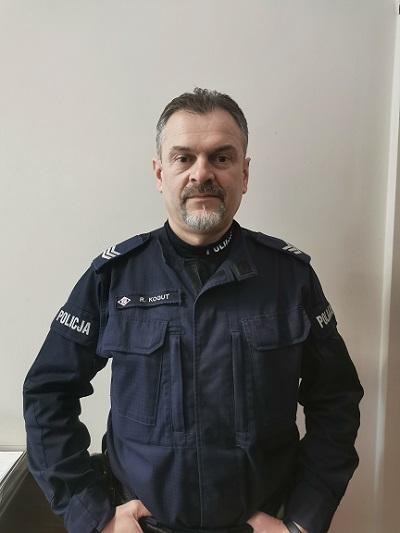 Policjant Roman Kogut