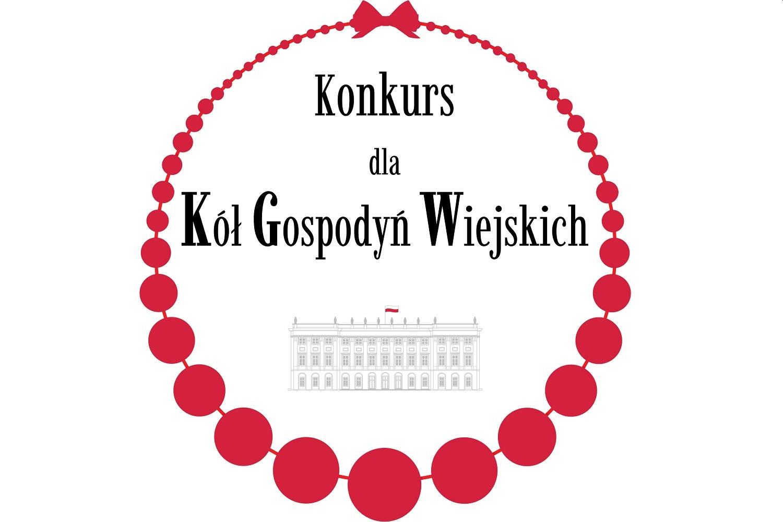 Logo konkursu dla Kół Gospodyń Wiejskich