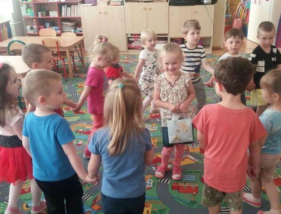 Zabawy przedszkolaków