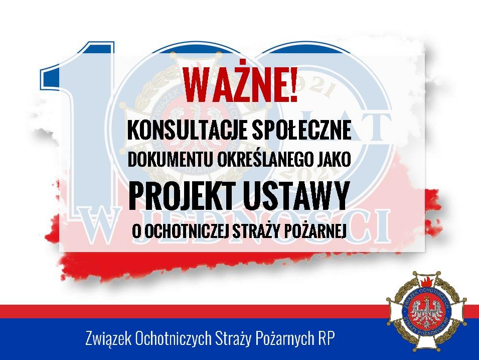 Plakat Konsultacji Społecznych