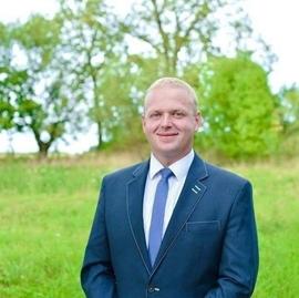 Krzysztof Rudnicki, przewodniczący komisji rolnictwa, gospodarki gruntami i ochrony środowiska.