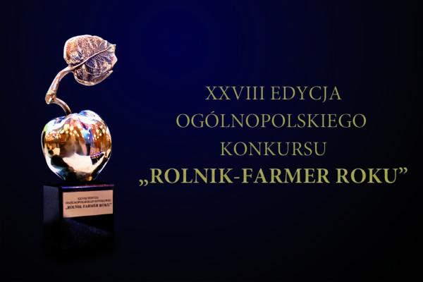 Plakat konkursu Rolnik Roku