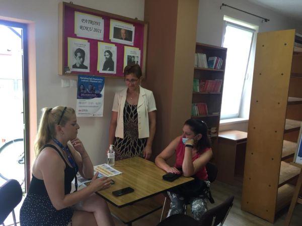 Mobilny Punkt Spisowy w Krzelowie