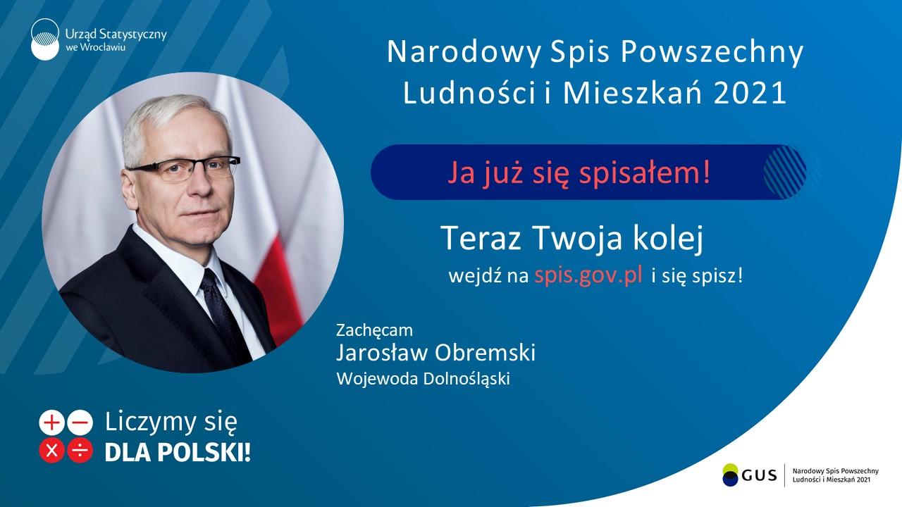 Jarosław Obremski zaprasza do samospisu