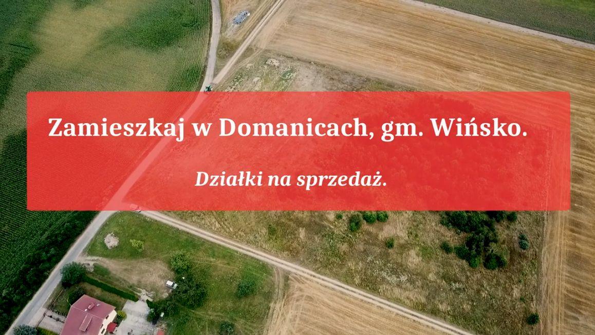 Zdjęcie z lotu ptaka - Zamieszkaj w Domanicach