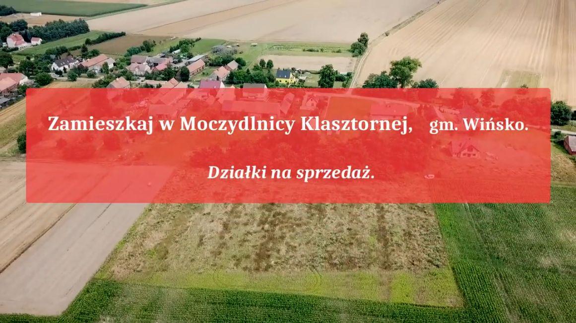 Zdjęcie z lotu ptaka - Zamieszkaj w Moczydlnicy Klasztornej