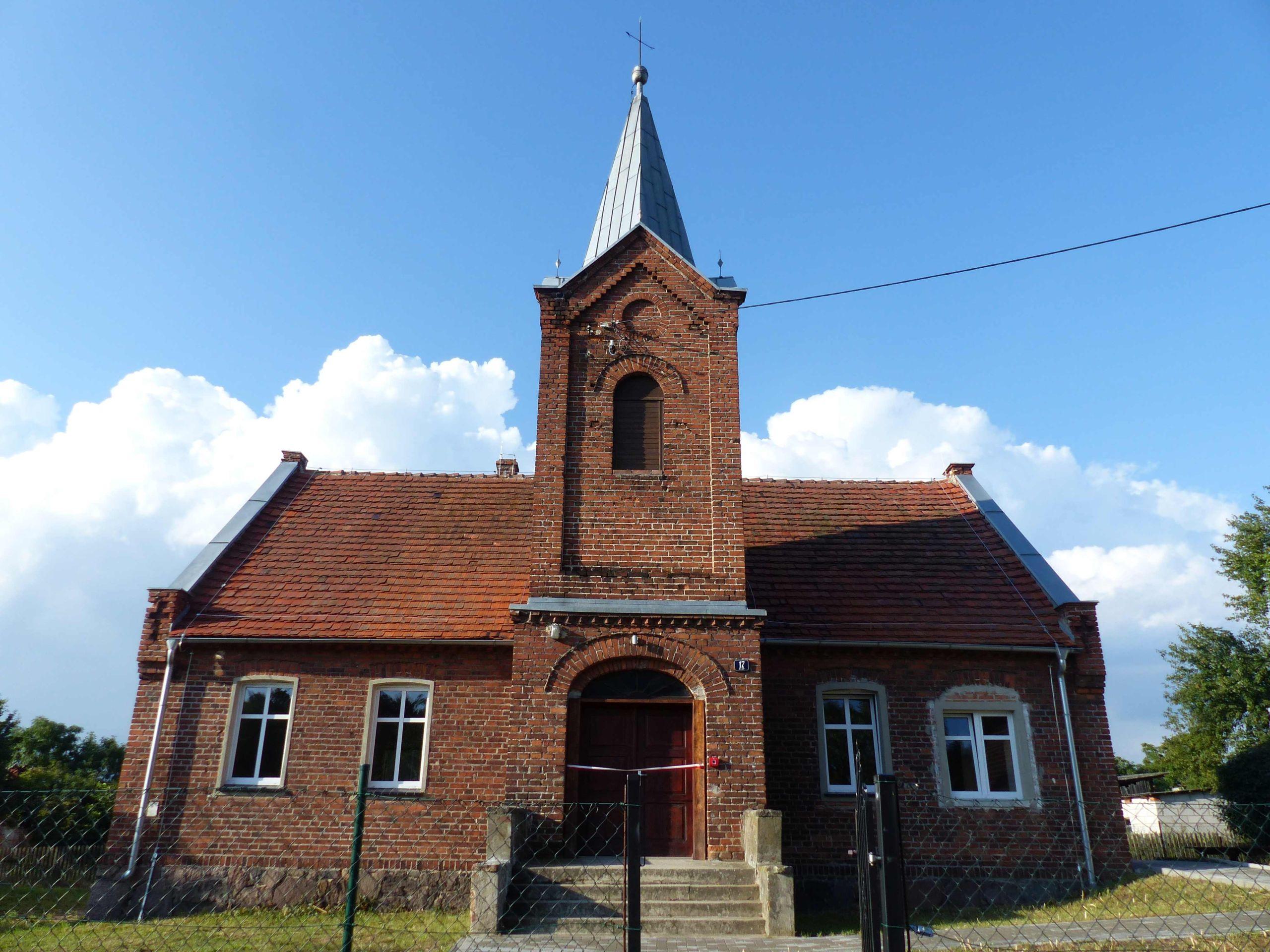 Budynek Pastorówki widziany od frontu.
