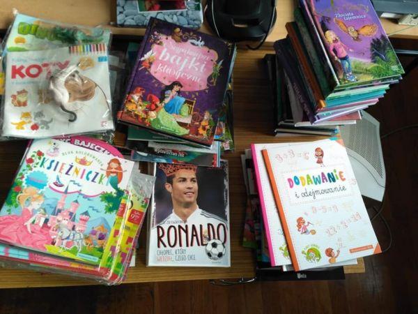 Książki zakupione przez Szkołę Podstawową w Wińsku